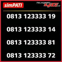 nomor simPATI cantik 1234