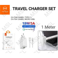 Mcdodo Charger 3A 18W QC3.0 Fast Charging CH-704