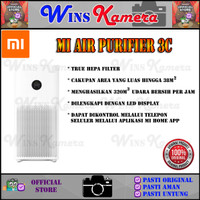 Xiaomi Mi Air Purifier 3C Pembersih Udara BEBAS VIRUS Original