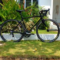 Polygon Strattos S4 Sepeda Balap Road Bike | Size M 51