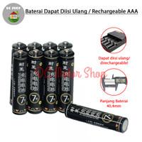 Baterai Rechargeable AAA A3 Ni-CD 1100mAh 1.2V Batre Battery Isi Ulang
