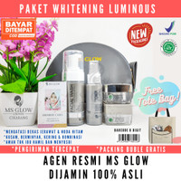 MS GLOW PAKET LUMINOS WHITENING - MSGLOW WHITENING LUMINOUS SERIES