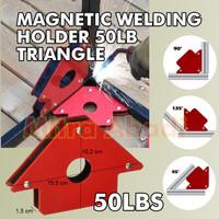"""Magnetic Welding Holder / Siku Las Magnet 50 LBS ( 22 KG ) 4"""" / 4 INCH"""