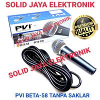 MIC PVI BETA 58 MIK KABEL BETA-58 BETA58 MICROPHONE WIRE CABLE ASLI