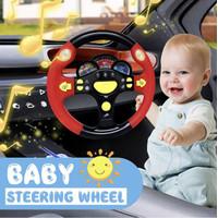Mainan Anak Laki Laki Setir Setiran Mobil Steering Racing Wheel Driver