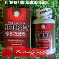 Obat Kanker Original Walatra Zedoril-7 Halal MUI Resmi BPOM
