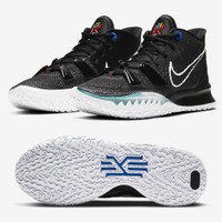 Sepatu Basket Nike Kyrie 7 BK Brooklyn Black White Kyrie7 CQ9326-0027