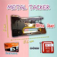 Metal Tacker Professional / Stapler Gun / Stapler Tembak Besi - Metal