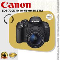 KAMERA CANON 700D kit 18-55mm IS STM / CANON 700D / EOS 700D / 700D