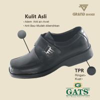 GATS ORIGINAL RF 8001 HITAM SEPATU PANTOVEL BOOT PRIA KULIT ASLI