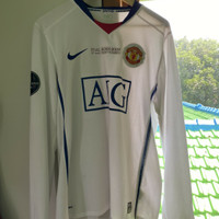 Jersey Manchester United Away 2008/2009 Final UCL edition Original