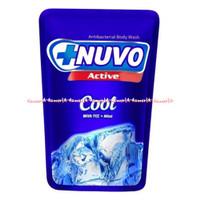Nuvo Active Cool With Tcc Mint Sabun Cair Nuvo 250ml
