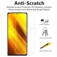 XIAOMI POCO X3 NFC / X3 TEMPERED GLASS CLEAR SCREEN GUARD 9H POCOPHONE