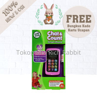 LeapFrog Chat and Count Smart Phone Mainan Telepon Anak Leap Frog