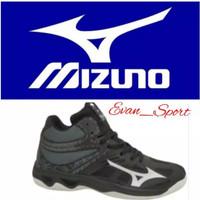 Mizuno Thunder Blade 2 Sepatu Voli Volly Mizuno Wlz6 Mizuno Lightning - Hitam, 39