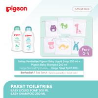 PIGEON Paket Baby Shampoo 200Ml & liquid Soap 200Ml