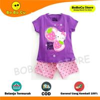 Baju Anak Perempuan/Setelan Anak Motif Minnie Pink Size 1-10 Thn - HELLO KITTY U, 1 Thn