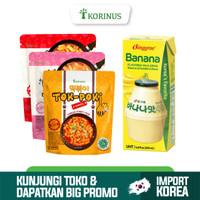 Paket Hemat Tokpoki All Variant + Binggrae Banana Milk 200ml