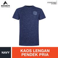 Eiger 1989 X Back Road T-shirt - Navy