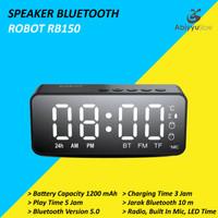 Speaker Bluetooth Robot RB150 5.0 Support Radio FM - LED Display