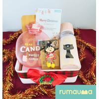 RUMAUMA Hadiah Natal Merry Parcel Hampers Souvenir Ultah Lebaran Unik