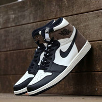 Nike Air Jordan 1 Retro High OG Dark Mocha Sail Black