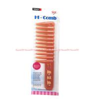 Trendy Hi-Comb Sisir Kecil Gigi Jarang Trendi Orange