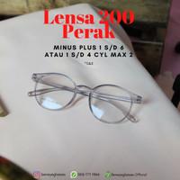 Lensa Kacamata Plus/Minus (+/-) 1 s/d 4 dengan Silinder (Cyl) Max 3