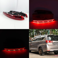 Lampu Reflektor LED Mata Kucing Bumper Innova Reborn 2016 Luxury 1set