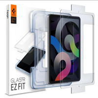 """Spigen Tempered Glass iPad Pro 11 inch / Air 4 10.9"""" inch with Tray"""