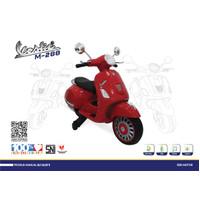 Mainan Anak Motor Aki VESPA VESTIC PMB M288 MURAH