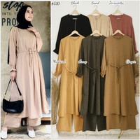 ST510 ( DEVON basic colour daily long tunic with pant