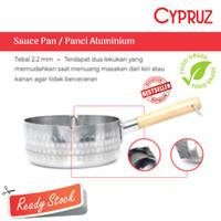Sauce Pan Aluminium Cypruz SN-0208 Panci Tebel 2,2mm Diameter 18cm
