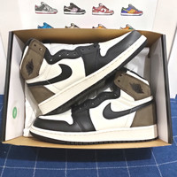 NIKE AIR JORDAN 1 HIGH OG DARK MOCHA GS US 6.5Y & 7Y BNIB 100% ORI