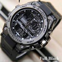 Jam tangan Gshock GS 2395 GST_8600 - full hitam
