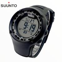 Jam Tangan Sunto Core 2032 anti air Full Hitam - plat putih