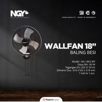 """Wall Fan Kipas Angin Dinding Baling Besi Nagoya 18 Inch 18"""" NG-1802 WF"""