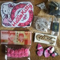 paket Hello Kitty bahan mahar