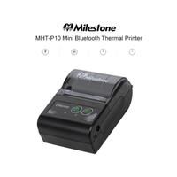 PRINTER THERMAL MILESTONE MHT P10 RECEIPT 58MM [BLUETOOTH & USB]