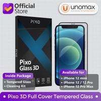 Tempered Glass iPhone 12 / mini / Pro / Pro Max Pixo 3D Full Cover