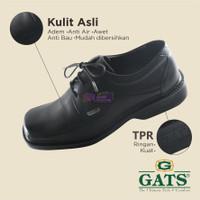 GATS ORIGINAL RF 8008 HITAM SEPATU PANTOVEL BOOT PRIA KULIT ASLI