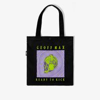 Geoff Max Official - Ripples Black   Tas Tote   Tote Bag