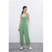 Jumpsuit Playsuit Wanita Green Summer Import