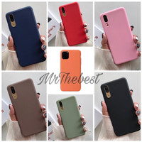 OPPO A11K SOFT MACARON CANDY SLIM CASE SILICONE COVER SLIM CASING TPU