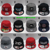 Topi Snapback Dewasa Hip Hop Bordir Fashion Bahan Rapel Distro.