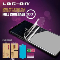LOG-ON SAMSUNG M21 ANTI BREAK SHOCK ANTI GORES JELLY FULL CURVED