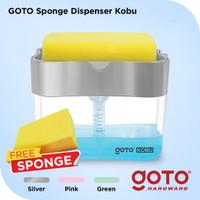 Goto Kobu Sponge Dispenser Holder Spons Tempat Sabun Cuci Piring