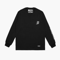 Athletica Official Shop - Paxton Long Sleeve Black   T-Shirt Pria