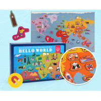 TweedyToys - Mideer Magnetic Puzzle - Hello World