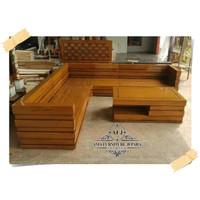 Kursi Tamu Sudut Box Jati Kursi Tamu Box Kursi Sofa Box Kursi sudut